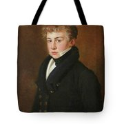 Portrait Of A Uong Man Of The Bazely Family Tote Bag