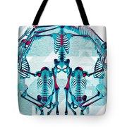 Pulchra Mors / Rgb Geometric Tote Bag