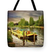 River Work Tote Bag