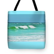 Rolling Waves Tote Bag