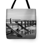 Sea Barrier Tote Bag