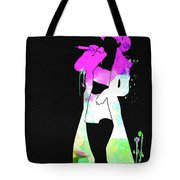 Shania Watercolor Tote Bag
