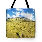 Snowcapped Volcano II Tote Bag by David Letts
