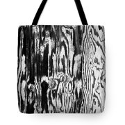 Stained Wood Siding Tote Bag