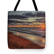 Sunset Fire Sky Tote Bag