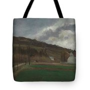 The Banks Of The Marne In Winter Tote Bag