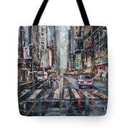The City Rhythm Tote Bag