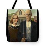 The Farmer And Adele Tote Bag