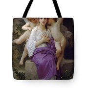 The Hearts Awakening Tote Bag