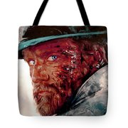 The Wounded Cowboy Tote Bag