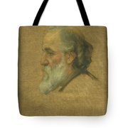 Title Sketch Of Alphonse Legros Tote Bag