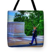 Tomb Of The Unknown Soldier Painting Tote Bag
