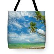 Tropical Beach, Siquijor Island Tote Bag