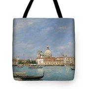 Venice, Santa Maria Della Salute From San Giorgio - Digital Remastered Edition Tote Bag