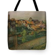 View Of Saint Valery Sur Somme  Tote Bag