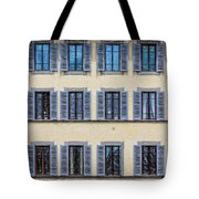 Wall Of Windows II Tote Bag by David Letts