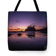 Washington Coast Last Light Tote Bag