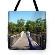 Western Lake Bridge Tote Bag