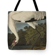 Whooping Crane  From The Birds Of America  Tote Bag