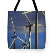 Wind Power Art  Tote Bag