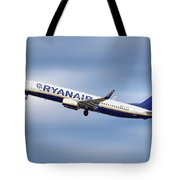Ryanair Boeing 737-8as Tote Bag