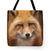 Russian Red Fox Tote Bag