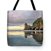 Wharariki Beach - New Zealand Tote Bag