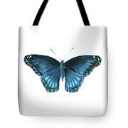 113 Brenton Blue Butterfly Tote Bag