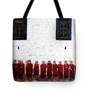 12 Monks Tote Bag