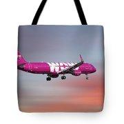 Wow Air Airbus A321-211 Tote Bag