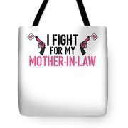Breast Cancer Awareness Art For Warrior Women Light Tote Bag