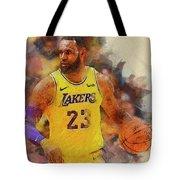 Lebron Raymone James Tote Bag