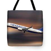 Ryanair Boeing 737-8as Tote Bag