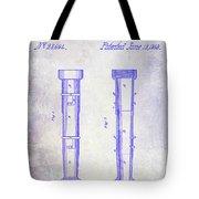 1860 Fire Hose Nozzle Patent Blueprint Tote Bag