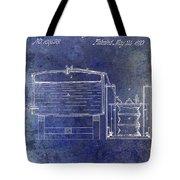 1870 Beer Preserving Patent Blue Tote Bag