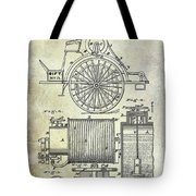 1873 Fire Extinguisgers Patent Tote Bag
