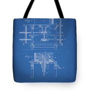 1885 Grist Mill Patent Tote Bag