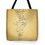 1885 Plow Patent Tote Bag