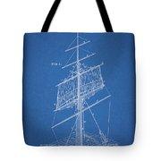 1885 Sails Patent Tote Bag