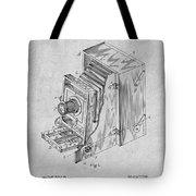 1887 Blair Photographic Camera Gray Patent Print Tote Bag