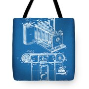 1899 Photographic Camera Patent Print Blueprint Tote Bag