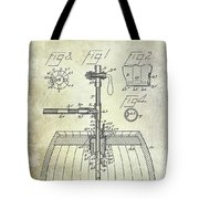 1902 Beer Tapping Device Patent Tote Bag