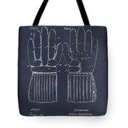 1914 Hockey Gloves Blackboard Patent Print Tote Bag