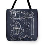 1919 Anesthetic Machine Blackboard Patent Print Tote Bag