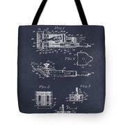 1919 Motor Driven Hair Clipper Blackboard Patent Print Tote Bag