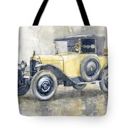 1925 Citroen 5cv Tote Bag