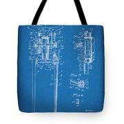 1929 Harley Davidson Front Fork Blueprint Patent Print Tote Bag