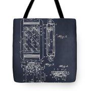 1931 Self Winding Watch Patent Print Blackboard Tote Bag