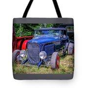 1932 Ford Highboy Hot Rod Roadster Tote Bag