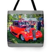 1935 Dodge Coupe Hot Rod Gasser Tote Bag